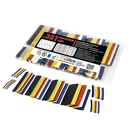 357-delige magnum set van ISO-PROFI® krimpkousen assortiment in zak gemêleerd