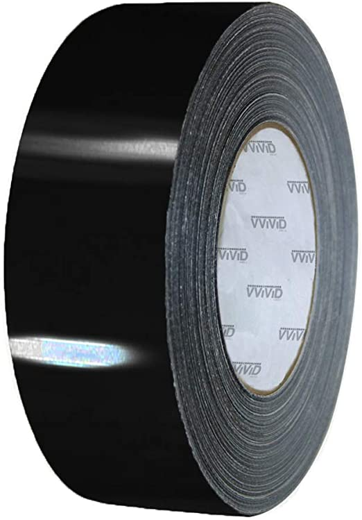 6 Inch x 30ft VViViD Gloss Gold Chrome Air-Release Vinyl Adhesive Tape Roll