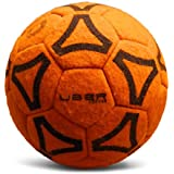 Uber Soccer Indoor Felt Ball - Orange - Size 4