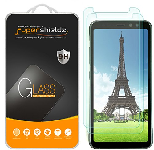 "[2-Pack] Supershieldz for Samsung ""Galaxy S8 Active"" (Not Fit for Galaxy S8 / S8 Plus Model) Tempered Glass Screen Protector, Anti-Scratch, Anti-Fingerprint, Bubble Free, Lifetime Replacement Warranty"