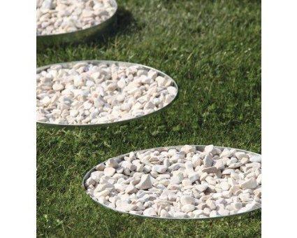Beetumrandung Rasenbegrenzung Beeteinfassung Gartenwelt Riegelsberger Rasenkante Kreis /Ø 30 x H 13 cm