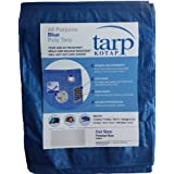 Kotap 12-ft x 16-ft General Purpose Blue Poly Tarp, Item: TRA-1216