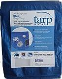 Kotap 10-ft x 18-ft General Purpose Blue Poly Tarp, Item: TRA-1018