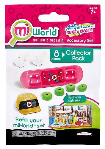MiWorld Pacific Coast Surf & Skate #2 Collector Pack [SkateBoard] (Jakks Pacific)