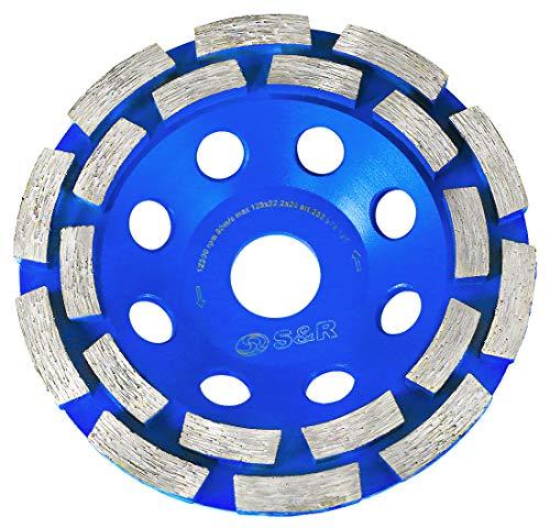 KSTE 1pcs 120 Grit 100mm meule diamant Coupe Pon/çage disque Grinder Accessoires