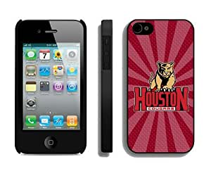 Cheap Iphone 4s Cover Ncaa Houston Cougars 01 Personalized Athletic Iphone 4 Cellphone Proective Case
