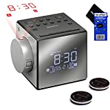 Wake Up Light Digital Alarm Clock with Sunrise Simulation - 6 Nature Sounds, FM Radio, Sunset Fading Night Light for Bedside and Kids, Sunrise Digital Alarm Clock for Heavy Sleepers