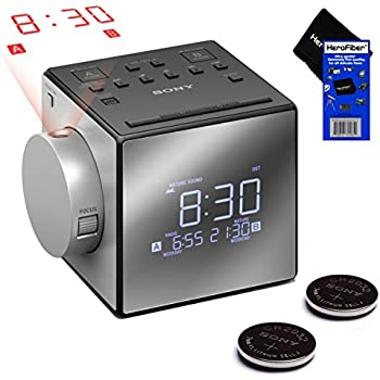 Amazon Com Sony All In One Compact Am Fm Dual Alarm Clock