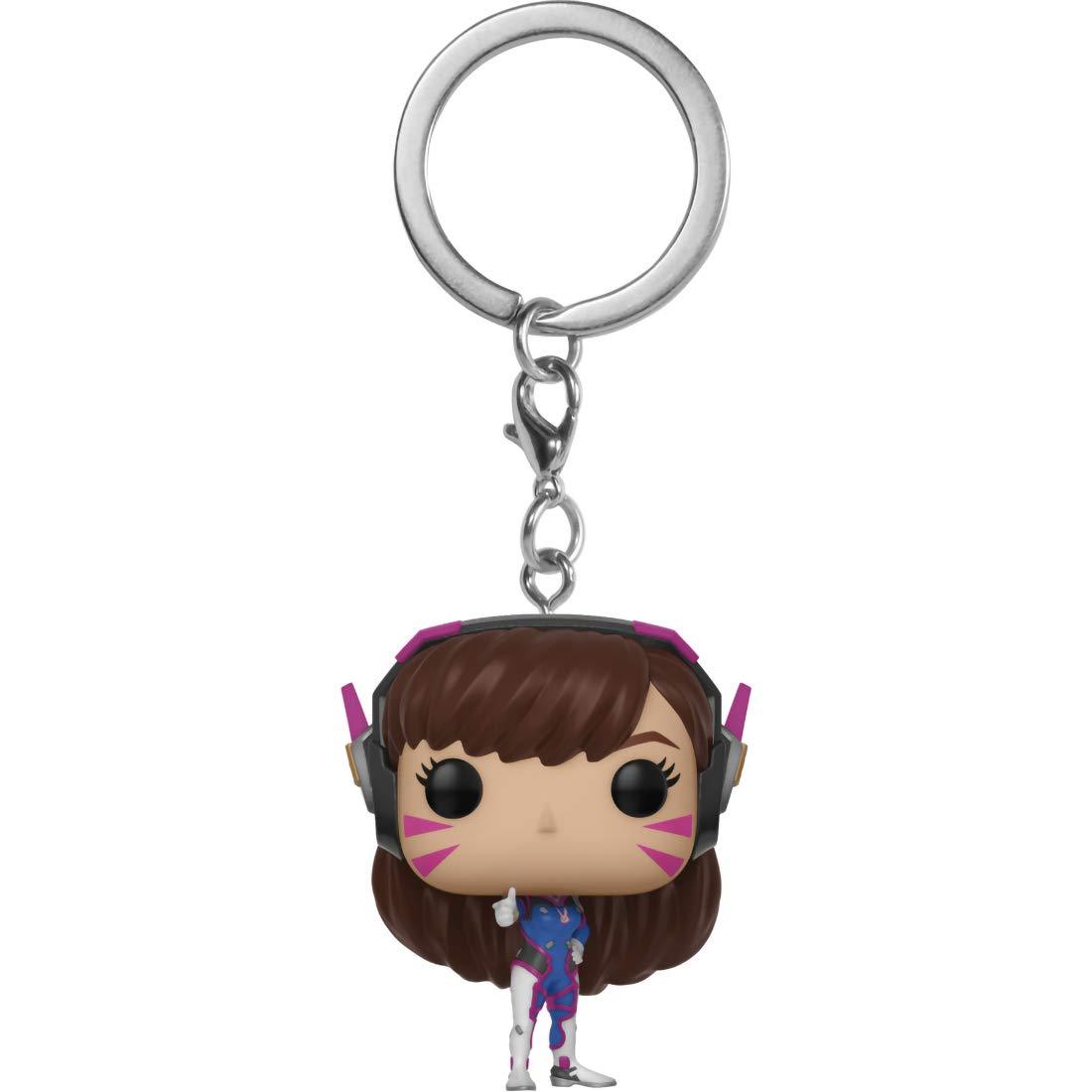 Amazon.com: Funko D.Va: Overwatch x Pocket POP! Mini-Figural ...