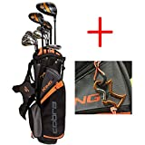2017 Cobra Golf Junior Complete Package Set King Series 11 Pieces age 13-15 comes with 1 Orange Custom Design Towel Ring