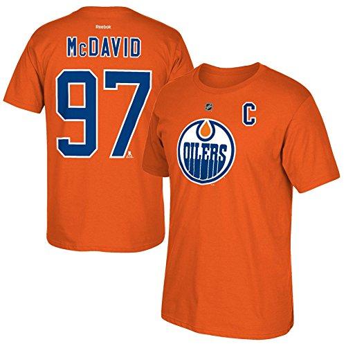 Edmonton Oilers McDavid Reebok T Shirt product image