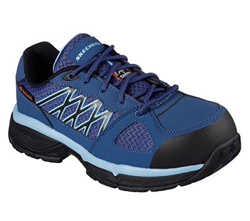 Skechers Work Womens Conroe Kriel Slip Resistant Shoe Navy/Blue xy7yGR3j