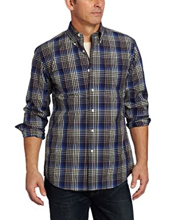 Pendleton Men's Metro Shirt, Blue/Multi Plaid, X-Large