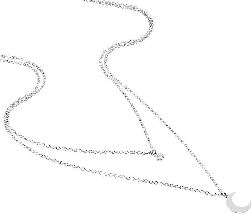 Zirconiums Diff/érents Motifs Bijou Femme Id/ée Cadeau No/ël Bracelets Cha/îne Rendez-vous RueParadis Paris Argent 925 Sterling//Massif Black Friday
