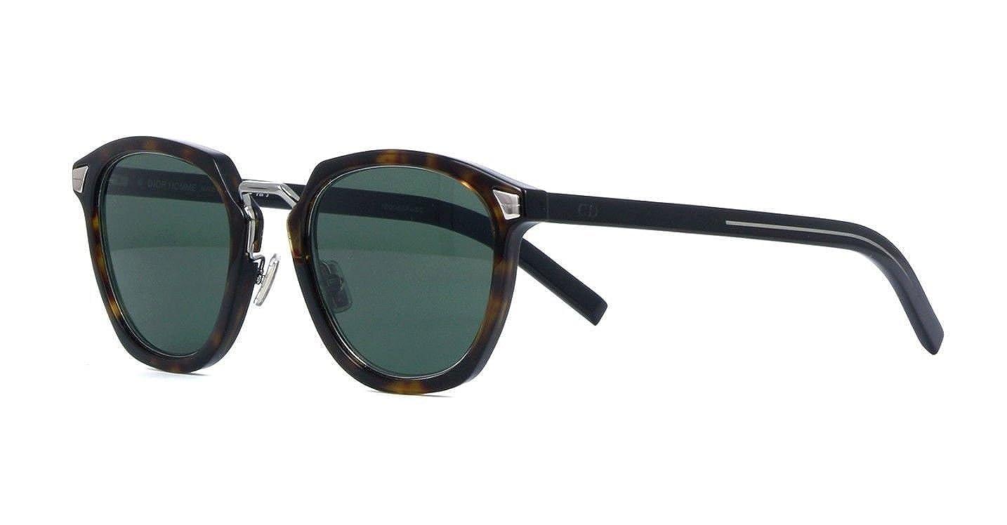 f248d5ddab39 Amazon.com  New Christian Dior Homme TAILORING 1 086 QT Dark Havana Black  Sunglasses  Clothing
