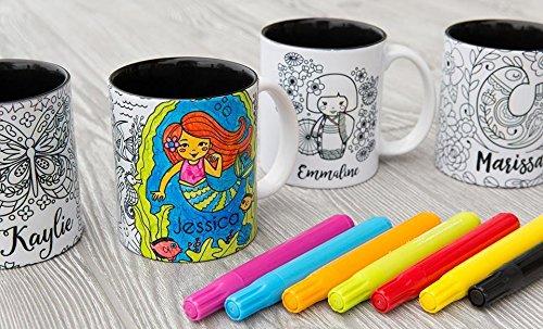 KAVKA DESIGNS P Coffee Mug 5 x 5 x 5