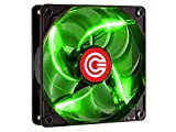 Circle Stay Cool CG-12 120MM Green LED Case Cabinet Fan