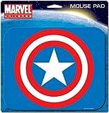 Ata-Boy Marvel Universe Captain America Logo Mouse Pad