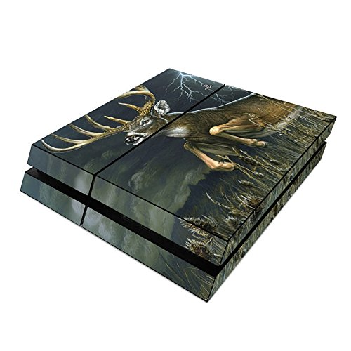 Thunder Buck Design Decal Skin Sticker for Sony Playstation 4 PS4 Console (Matte Satin) ()