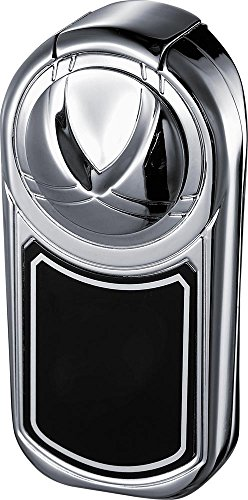 (Visol Dobrev II Double Torch Flame Polished Chrome Lighter)