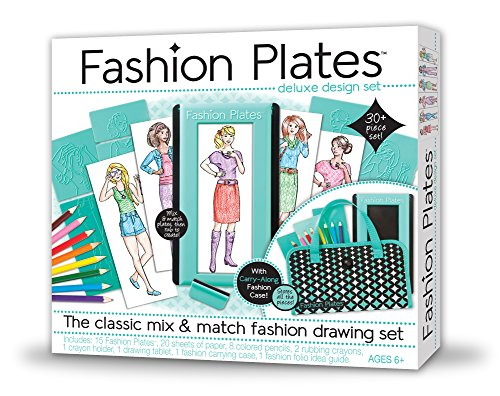 Fashions Paper - Kahootz Fashion Plates Deluxe Kit