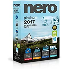 Nero 2017 - More Formats, Functions, Technology and Security