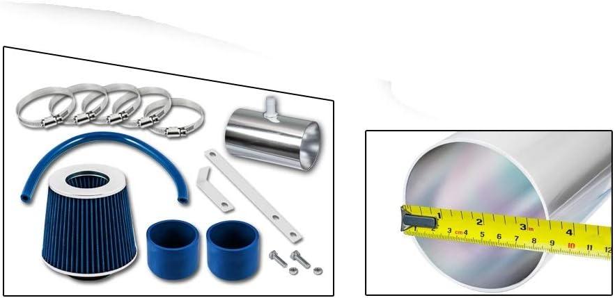 High Performance Parts Short Ram Air Intake Kit & Blue Filter ...