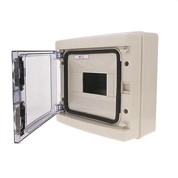 Cablematic - Caja de distribución eléctrica SPN 8M IP65 de superficie de plástico ABS HA: Amazon.es: Electrónica