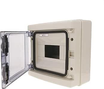 BeMatik - Caja de distribución eléctrica SPN 8M IP65 de Superficie ...