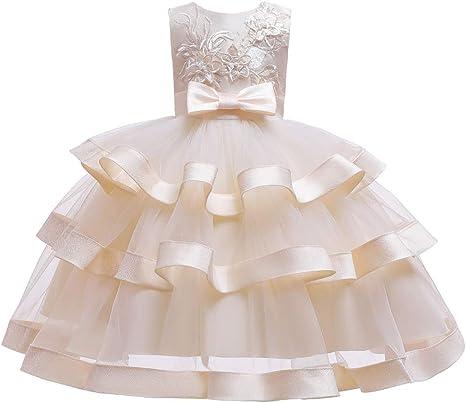 Vestido De Falda De Princesa para Niñas, Vestido De Noche De Niña ...