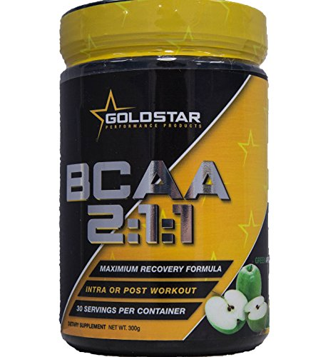 Goldstar Performance BCAA 2:1:1 Green Apple