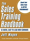 img - for Sales Training Handbook by Jeff Magee (2001-05-31) book / textbook / text book