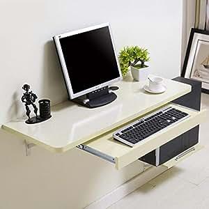 FEI Escritorio montado en la Pared del Ordenador portátil de la PC de la computadora para los niños ...