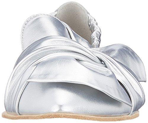 Suola Canile Donne Piattaforma argento 613 Argento Bianca Pia Delle E Xxl Schmenger Ballerine vqcOWwvrU