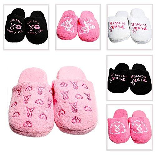 Pantofole A Nastro Rosa (5-6)