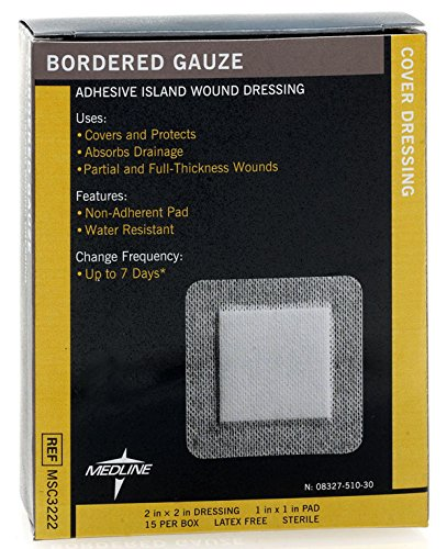 Medline MSC3222Z Sterile Bordered Gauze
