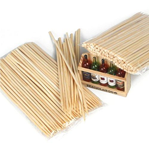 Wukong 15cm al aire última intervensión Barbacoa brochetas de bambú de cocción para asar Stick Conjunto De 500