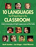 img - for 10 Languages You'll Need Most in the Classroom: A Guide to Communicating with English Language Learners and Their Families book / textbook / text book