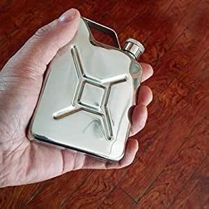 Portable 50oz Stainless Steel Mini Hip Flask Liquor Whisky Pocket Bottle With Funnel