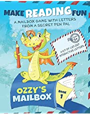 Ozzy's Mailbox: Motivate reading practice with Ozzy's learn to read games for kids 5-7! Interactive letters from a dragon pen pal, daily reading kindergarten/grade 1