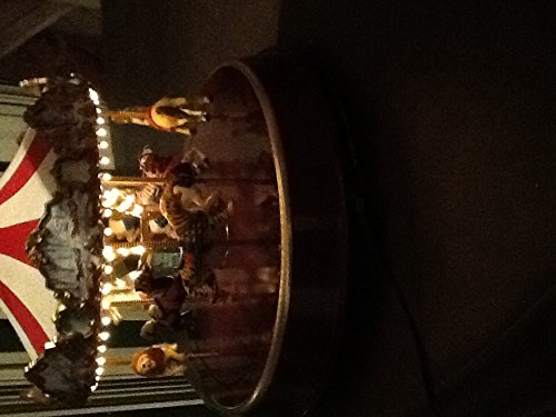 (Mr. Christmas World's Fair Animated Musical Classic Carousel Ride Decoration #79213)