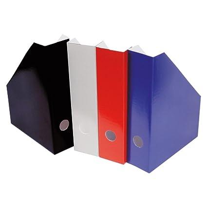 6 Stehsammler 6 verschiedene Farben DIN A4 Stehordner