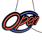 Electric Light up LED Open Sign for Shops,Stores,Salons,Hotels Wall Window Display