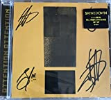 Shinedown ATTENTION ATTENTION CD [Amazon Signed Exclusive Edition]