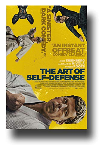 The Art of Self Defense Poster Movie Promo 11 x 17 inches Kung Fu Yellow Reviews Jesse ()