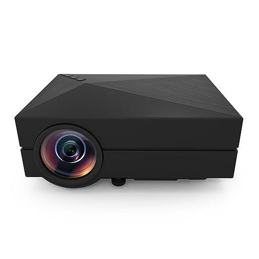 7 opinioni per Mini proiettore portatile, HuiHeng GM60 1000 Mini proiettore portatile lumen