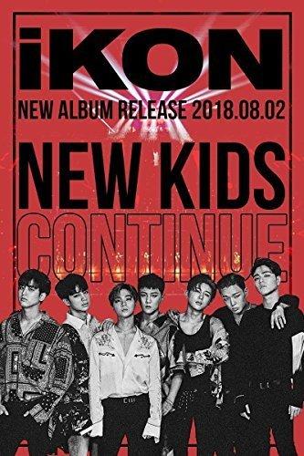 IKON [NEW KIDS:CONTINUE] Album RANDOM Ver CD+PhotoBook+Card K-POP SEALE