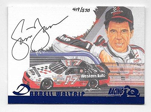 Darrell Waltrip NASCAR 1997 Sam Bass Racing IQ auto /570 (Sam Bass Nascar)
