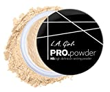 Beauty : L.A. Girl Pro High Definition Setting Powder, Banana Yellow, 0.17 Ounce (Pack of 3)