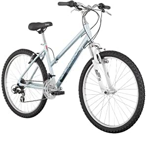 Diamondback Lustre One Women's Mountain Bike (26-Inch Wheels), Light Blue, Medium/17-Inch